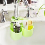 Double Basket Kitchen Sink Pouch