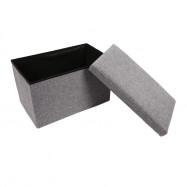 Multifunctional Foldable Storage Stool Clothing Organizer