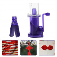Hand Operated Easy Knitting Tool Wool Weaver Machine
