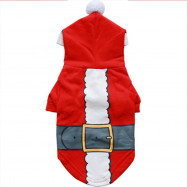 Christmas Sweater Cosplay Santa Hoodie for Dogs and Cats