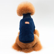 Solid Color Coral Fleece Sweater for Dogs and Cats