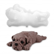 3D Shar-pei Silicone Cake Decoration Mould for Chocolate Party