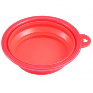 Portable Silicone Collapsible Expandable Food Water Feeding Pet Dog Bowl