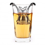 Stainless Steel Frog Shape Mesh Tea Infuser Reusable Strainer