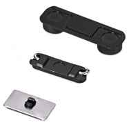 5 Sets Power Volume Mute  Side Button Repalce Parts for iPhone 5