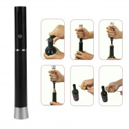Multifunctional Zinc Alloy Air Pressure Wine Opener