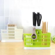 Chopsticks Cage Spoon Cutlery Storage Holder Draining Rack