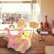 Cartoon Children Sofa Chair Plush Dinosaur Toy Stool