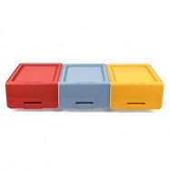 Plastic Thickening Flip Stackable Storage Box