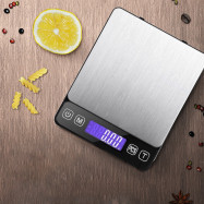 Electronic Kitchen Scale Stainless Steel Food Measuring Tool