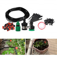 25M DIY Micro Spray Drip Irrigation System with Water Dropper