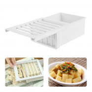 Multi-function Kitchen Cut Tofu Mold Box Cooking Tool