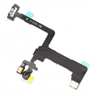 Power Mute Volume Control Button Switch Connector Flex Cable Replacements for iPhone 6 Plus