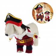 Funny Pet Dog Halloween Pirate Costume Clothes