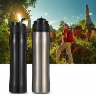 Self-lock Portable Insulation French Press Leak Proof Coffee Bottle