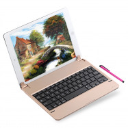 Ultra Thin Aluminum Alloy Removable Wireless Bluetooth Keyboard for iPad Pro 9.7 inch