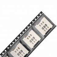 5Pcs SIM Card Reader Slot Socket Holder Replace Parts for iPhone 6 Plus