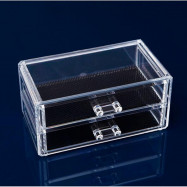 TODO 2 Drawer Cosmetic Box Makeup Organizer Storage Case