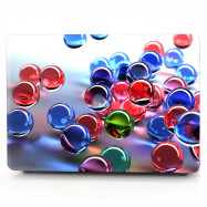 Computer Shell Laptop Case Keyboard Film for MacBook Air 13.3 inch 3D Glass Ball