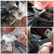 Multifunctional Creative Beer Bottle Opener EDC Tool