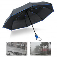 SUSINO Fully Automatic 3 Folding Windproof 8Ribs Umbrella