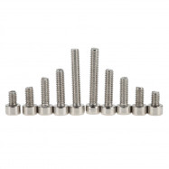 60pcs Stainless Steel Cylinder Hexagon Socket Head Cap Screw