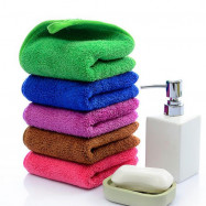 1 Pc Hand Towel Simple Solid Color Soft