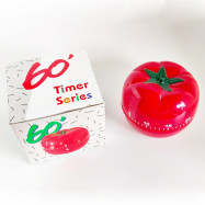 60's Cute Kitchen Timer Tomato Kitchen Cooking Timer Timer Counter Alarm