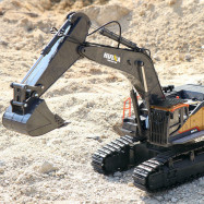 Huina 1592 RC Excavator 1/14 Model 22CH Truck 2.4G Remote Control Car Kid RC Toy