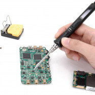 MINI TS80P Main Digital Soldering Iron Station QC3.0 USB Type-C OLED Programable