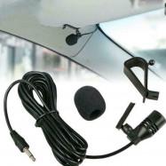 3.5mm Microphone Car Radio Stereo GPS DVD Bluetooth Audio Mic External W1H7 HOT