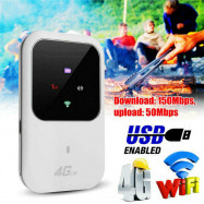 Wireless Portable Unlocked 4G Wifi Router LTE Car Mobile Hotspot SIM Card Slot