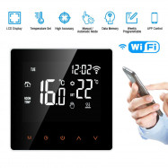 Programmable Wifi Wireless Heated Digital Thermostat LCD Screen App Controller