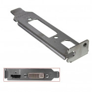Low Profile Bracket Adapter HDMI & DVI Port For Half Height Graphic Video Cards