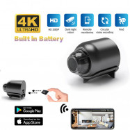 Mini Spy Battery Camera Wireless Wifi IP Security HD 4K Night Vision DVR Hide
