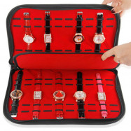 20 Watch Storage Box Watch Travel Pouch Collection Display Case Tray Interlayer