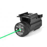 Tactical Green Dot Laser Sight QD 20mm Rail Mount for Glock 17 19 Pistol Rifle