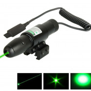 Green Dot Mini Laser Sight Tactical For Rifle Gun Scope Remote Switch Hunting