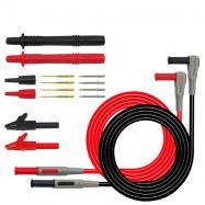 Multimeter Test Lead Kit Banana Plug Alligator Clip Wire Piercing Probe
