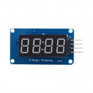 For Arduino TM1637 4Bits Digital Tube LED Display Module With Clock Display