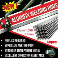 50X Aluminum Solution Welding Flux-Cored Rods Wire Brazing Rod 2MM/1.6MM