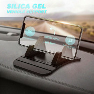 Car Dashboard Mobile Phone Stand Bracket Non-slip Silicone Mat Holder Rubbe