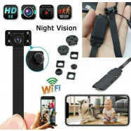 1080P Spy Nanny Cam HD wireless WiFi Mini Micro Hidden pinhole DIY Camera DVR
