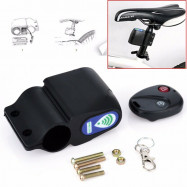 Bike Wireless Alarm Lock Bicycle Security System Anti-Theft With Remote Control