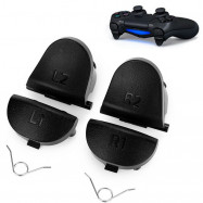 New Black L1 R1 L2 R2 Trigger Gamepad Button For Game PS4 Controller DualShock 4