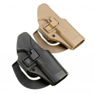 Tactical Holster Right Hand Paddle Holster For Glock 17 19 22 23 31 Black Tan