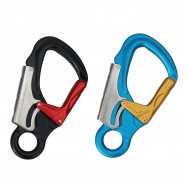 35KN Auto Locking Clip Heavy Duty Carabiner for Rock Climbing Mountaineering Uti