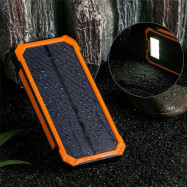 2000000mAh Dual USB Portable Solar Battery Charger Solar Power Bank For Phone