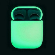 Glow In The Dark Silicone Protective Cover For Apple Airpod 2/1 Charging Case