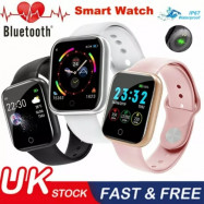 2020 Smart Watch Bluetooth Heart Rate Blood Pressure Fitness Tracker IP67 HOT
